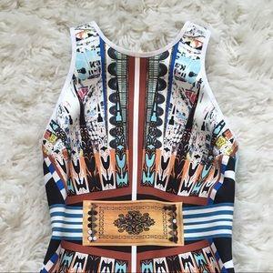 Clover Canyon Dresses - Clover Canyon neoprene dress Deco City